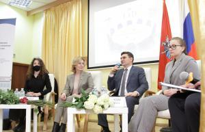 Председатель комитета по социальной политике Совета Федерации Инна Святенко обсудила со студентами МГУТУ закон о молодёжной политике